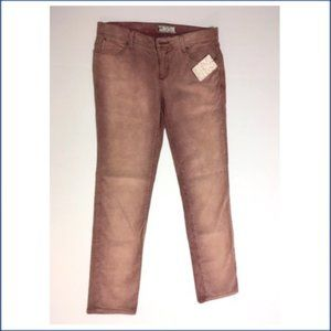 NWT Free People Cotton Pink Corduroy Jeans 27